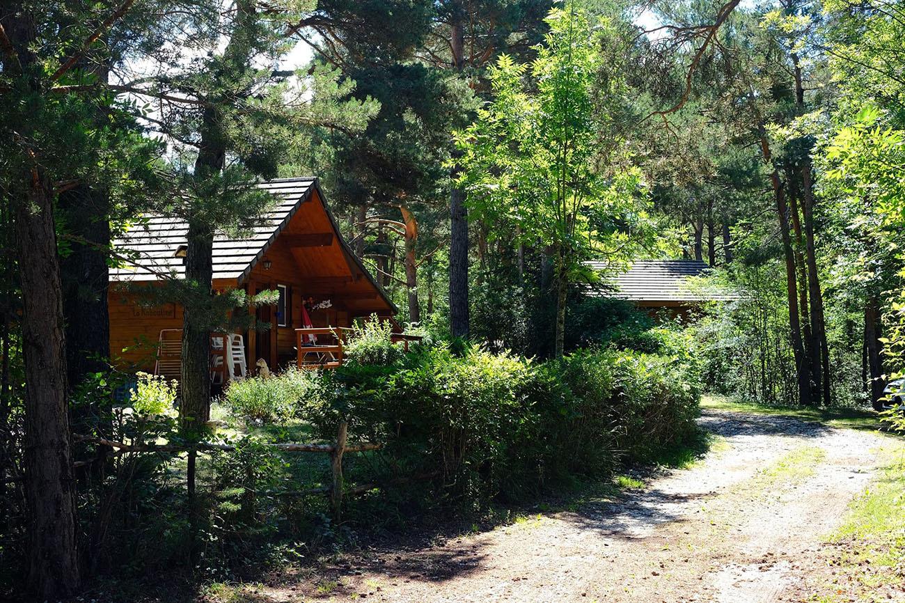 Camping le Parc des serigons-Camping Montagne Chalets