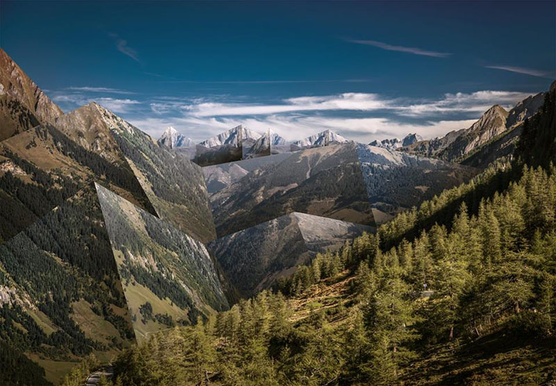 Montagne Vue-Camping Montagne