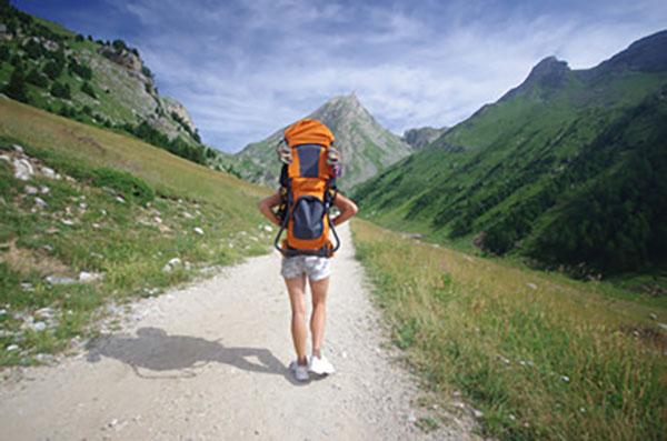 Randonneur-Camping Montagne