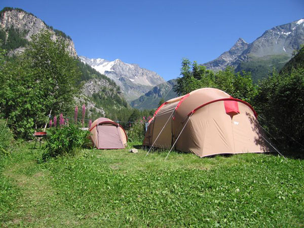 Emplacement tente Camping Montagne
