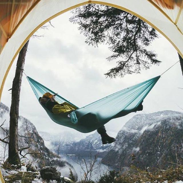 Transat suspendu-Camping Montagne